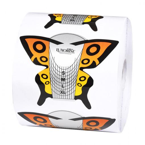 Poze Sabloane Constructie Unghii Fluture - LUXORISE, 500 buc