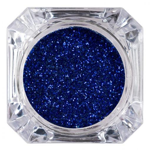 Poze Sclipici Glitter Unghii Pulbere Admiral Blue #43, LUXORISE
