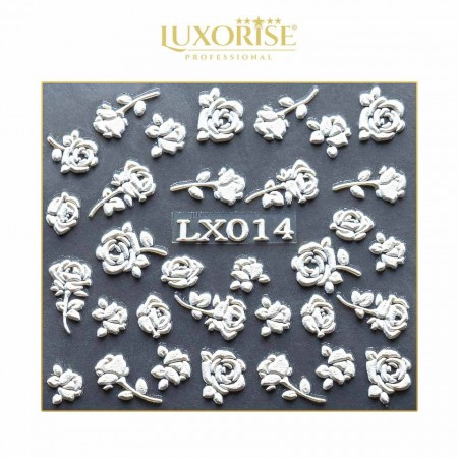 Poze Tatuaj 3D Unghii LUXORISE LX014 - Artistry