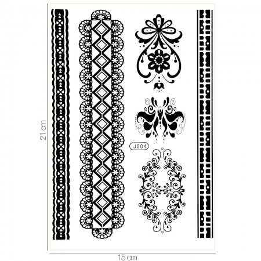 Poze Tatuaj Temporar LUXORISE Get In Line J004