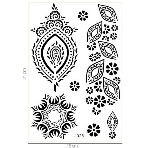 Poze Tatuaj Temporar LUXORISE What's Your Tribe J028
