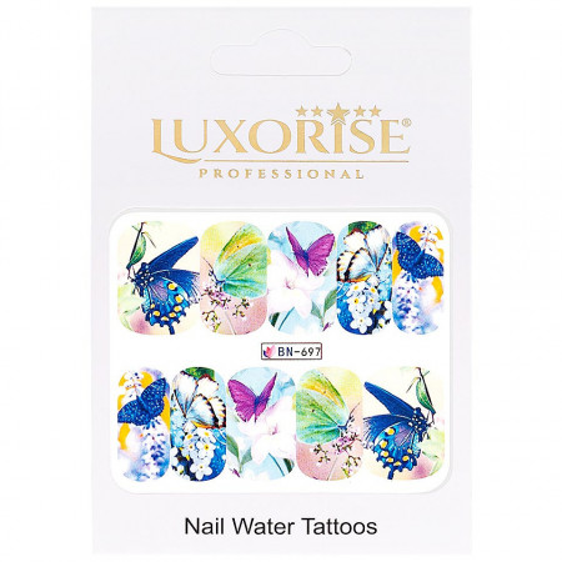 Poze Tatuaj Unghii Butterfly BN-697, LUXORISE
