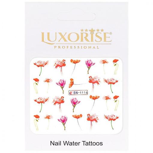 Poze Tatuaj unghii Flamingo BN-1116, LUXORISE
