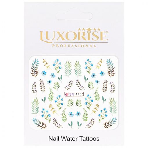 Poze Tatuaj Unghii Nature BN-1406, LUXORISE