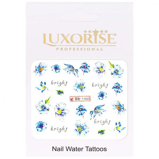 Poze Tatuaj Unghii Nature BN-1465, LUXORISE