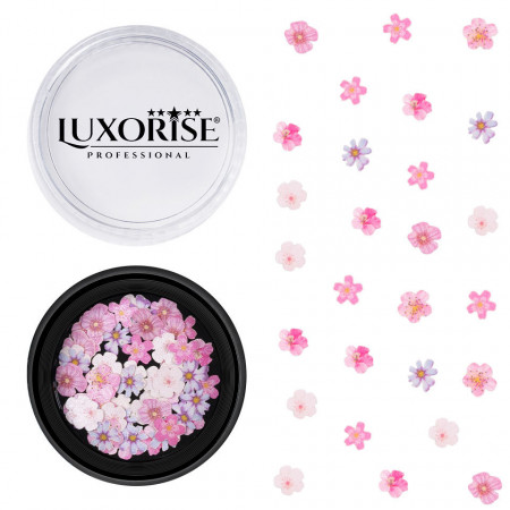 Poze Decoratiuni Unghii Nail Art Pink Summer, LUXORISE