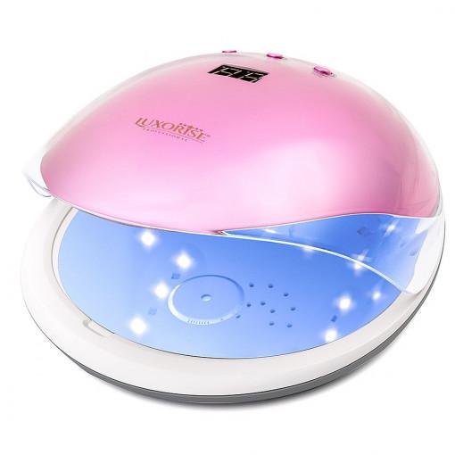 Poze Lampa unghii UV LED 36W Crystal PRO LUXORISE, Roz Safir