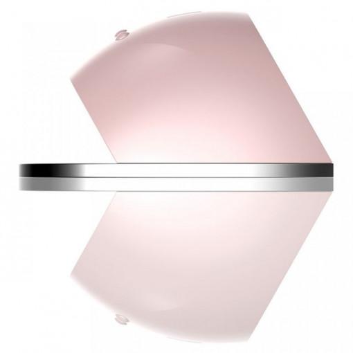 Poze Lampa UV LED LUXORISE Hybrid 48W, Display Digital SUN6, Double Light LED, Roz