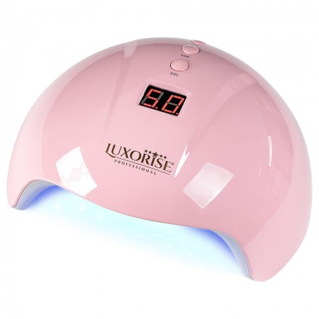 Poze Lampa UV LED Perfect Nails Pro LUXORISE 24W, Roz