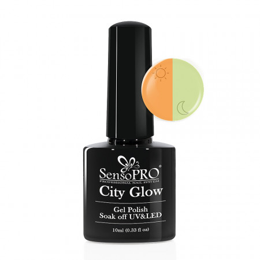 Poze Oja Semipermanenta City Glow SensoPRO #03 Oran-Jollie, 10ml