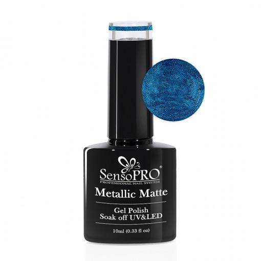 Poze Oja Semipermanenta Metallic Matte SensoPRO #02 Wenge, 10ml