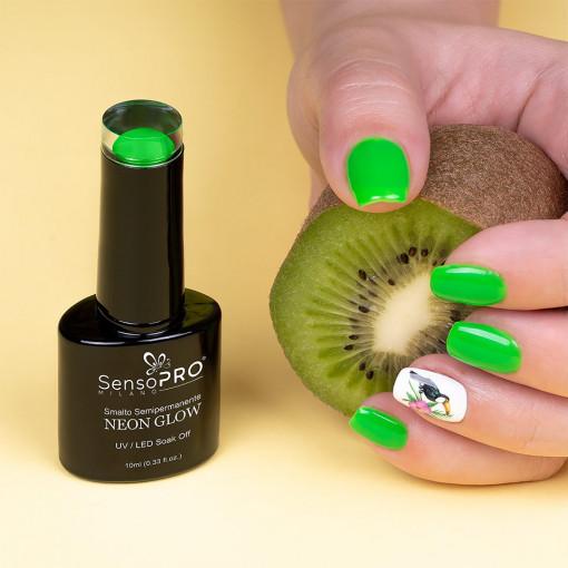 Poze Oja Semipermanenta Neon Glow SensoPRO Delicious Avocado #29, 10ml