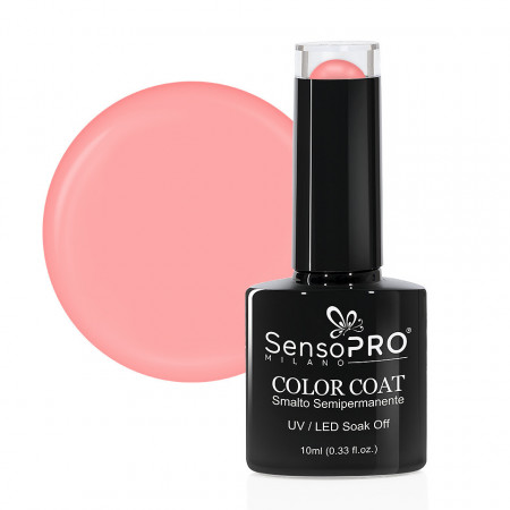 Poze Oja Semipermanenta SensoPRO Milano 124 Shell Pink, 10ml