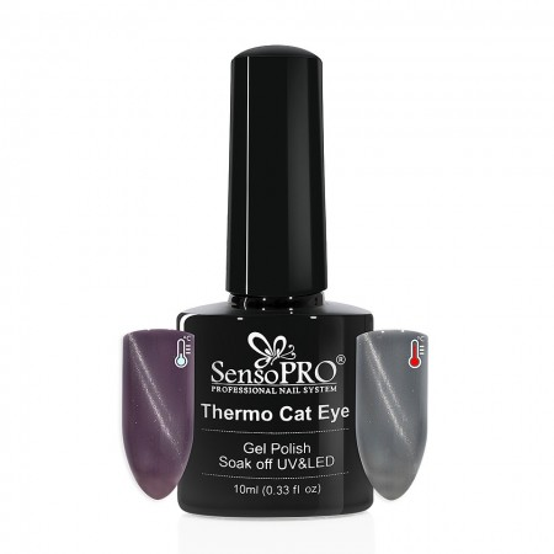 Poze Oja Semipermanenta SensoPRO Thermo Cat Eye #14, 10 ml