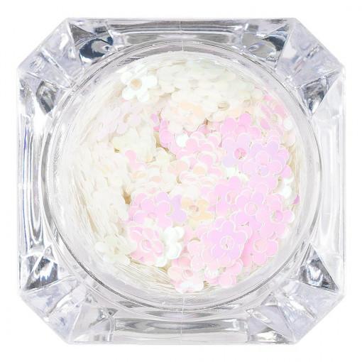Poze Paiete Unghii Lovely Flowers #14, LUXORISE