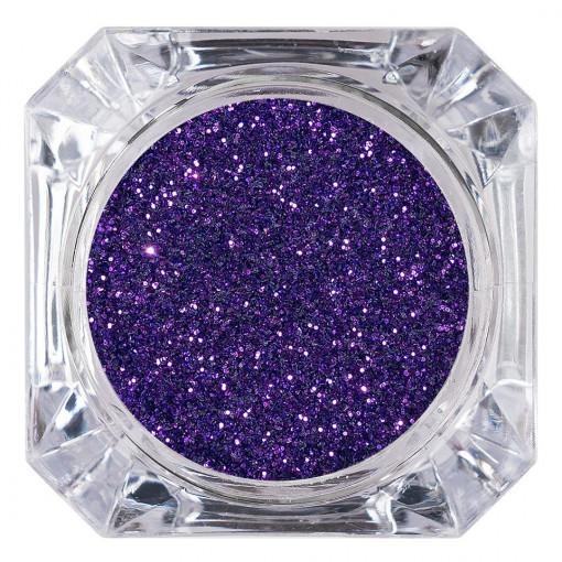 Poze Sclipici Glitter Unghii Pulbere Ultra Violet #23, LUXORISE