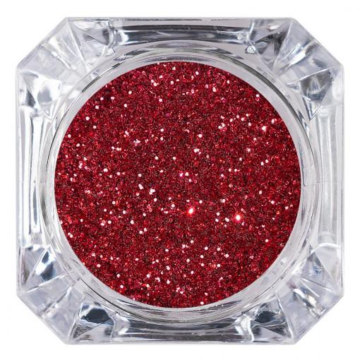 Poze Sclipici Glitter Unghii Pulbere Wine Red #30, LUXORISE