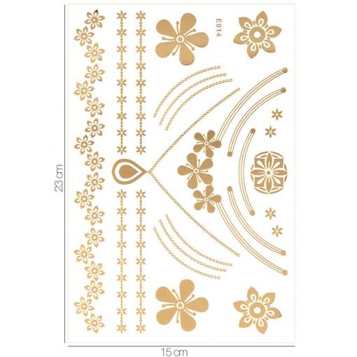 Poze Tatuaj Temporar LUXORISE Gold Edition E014