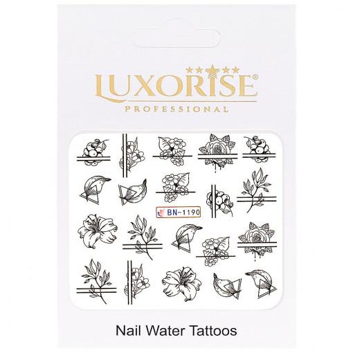 Poze Tatuaj unghii Fantasy BN-1190, LUXORISE