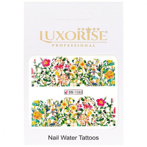 Poze Tatuaj unghii Nature BN-1082, LUXORISE