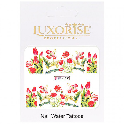 Poze Tatuaj unghii Nature BN-1092, LUXORISE