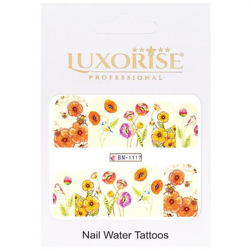 Poze Tatuaj unghii Nature BN-1117, LUXORISE