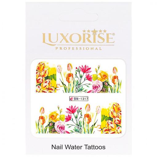 Poze Tatuaj Unghii Nature BN-1317, LUXORISE