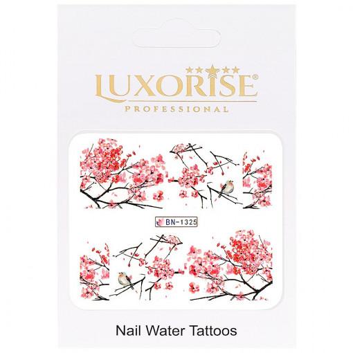 Poze Tatuaj Unghii Nature BN-1325, LUXORISE
