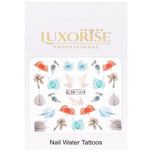 Poze Tatuaj Unghii Nature BN-1414, LUXORISE