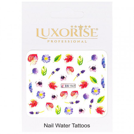 Poze Tatuaj unghii Nature BN-947, LUXORISE