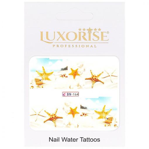 Poze Tatuaj Unghii Tropical BN-164, LUXORISE