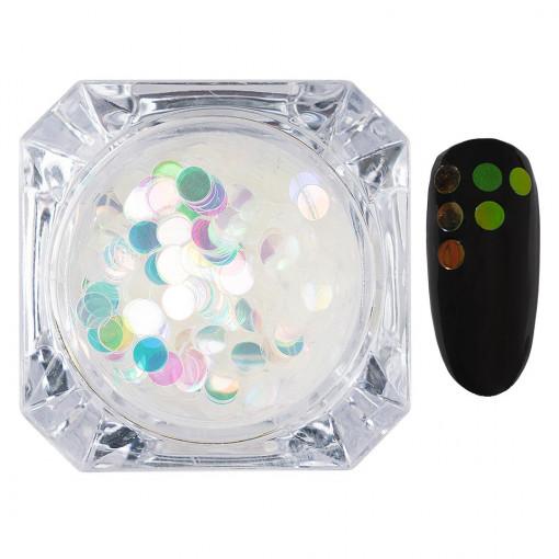 Poze Confetti Unghii LUXORISE #015 Colorful Spots