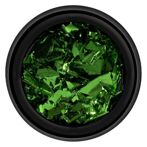 Poze Foita Unghii Unique Green #12, LUXORISE