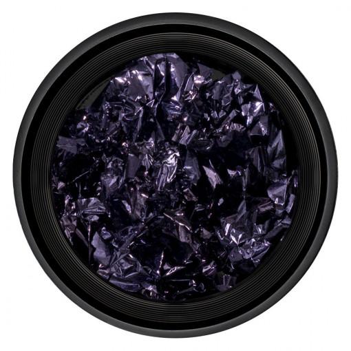Poze Foita Unghii Unique Violet #09, LUXORISE