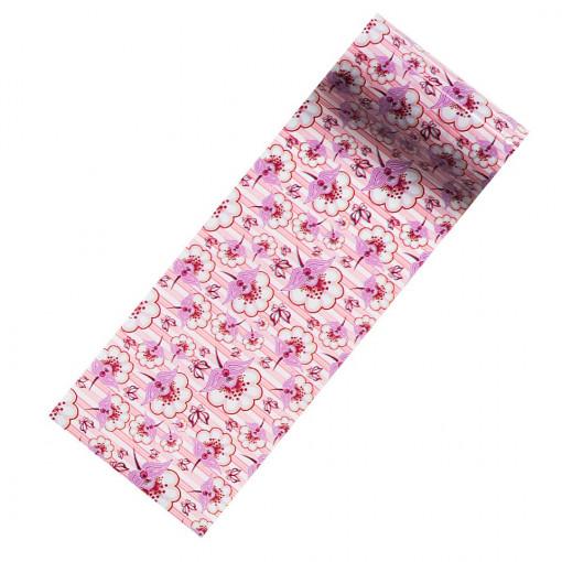 Poze Folie Transfer Unghii LUXORISE Cotton Flowers #278
