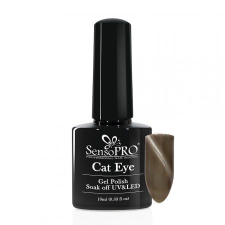 Poze Oja Semipermanenta SensoPRO Cat Eye LongTime #004, 10ml