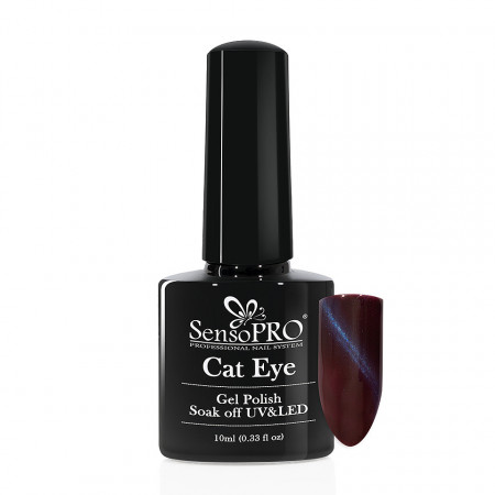 Poze Oja Semipermanenta SensoPRO Cat Eye Starry Sky #044, 10ml