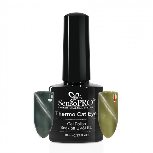 Poze Oja Semipermanenta SensoPRO Thermo Cat Eye #06, 10 ml