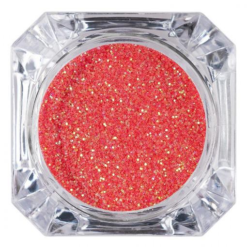 Poze Sclipici Glitter Unghii Pulbere Corai #21, LUXORISE