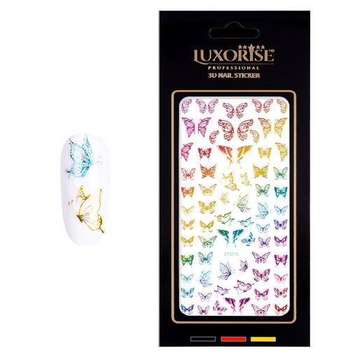 Poze Sticker Unghii Butterfly DP2015, LUXORISE