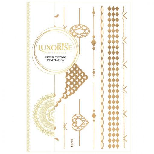 Poze Tatuaj Temporar LUXORISE Gold Edition E010