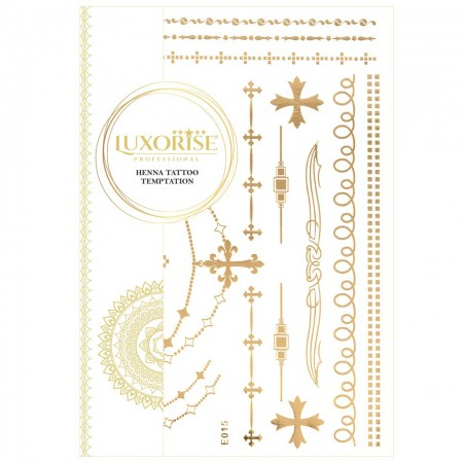Poze Tatuaj Temporar LUXORISE Gold Edition E015