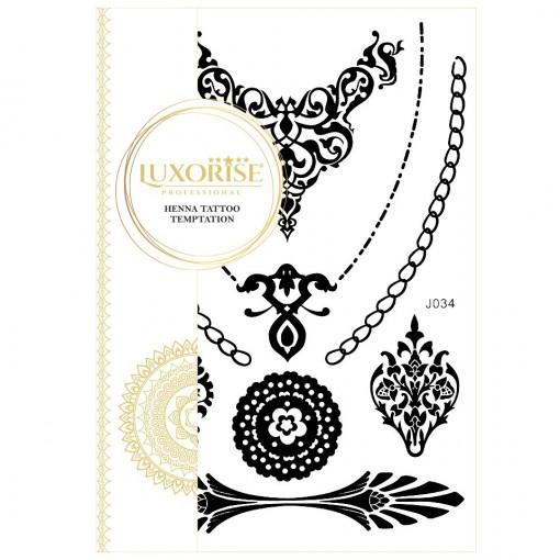 Poze Tatuaj Temporar LUXORISE Queen's Jewelry J034