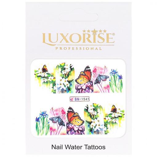 Poze Tatuaj Unghii Butterfly BN-1541, LUXORISE