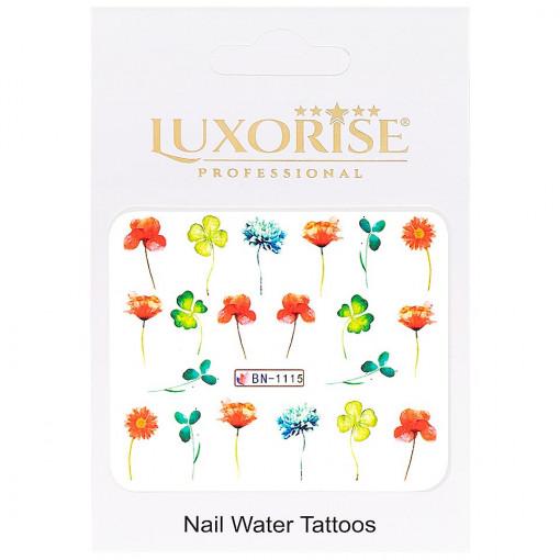 Poze Tatuaj Unghii Nature BN-1115, LUXORISE