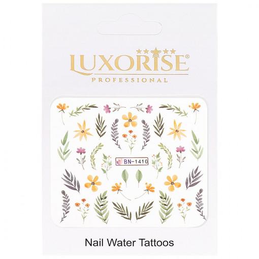 Poze Tatuaj Unghii Nature BN-1410, LUXORISE
