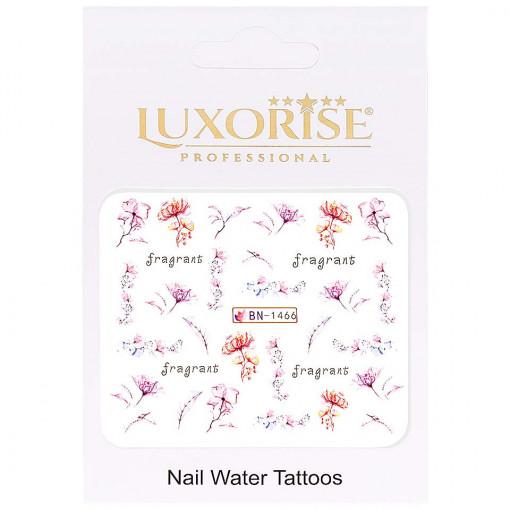 Poze Tatuaj Unghii Nature BN-1466, LUXORISE