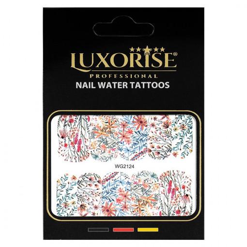 Poze Tatuaj unghii Nature WG2124, LUXORISE