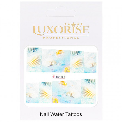 Poze Tatuaj Unghii Tropical BN-162, LUXORISE