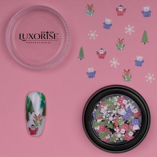 Poze Decoratiune Unghii LUXORISE Christmas Delights #05